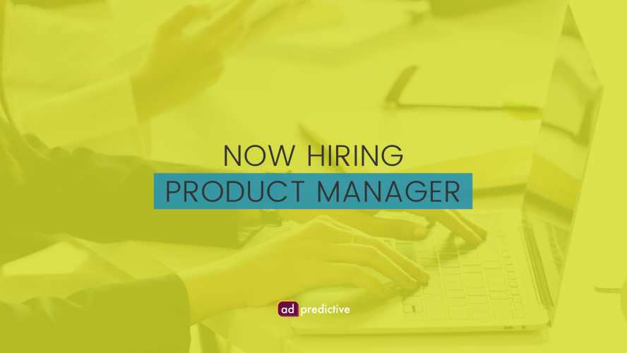 now hiring product manager